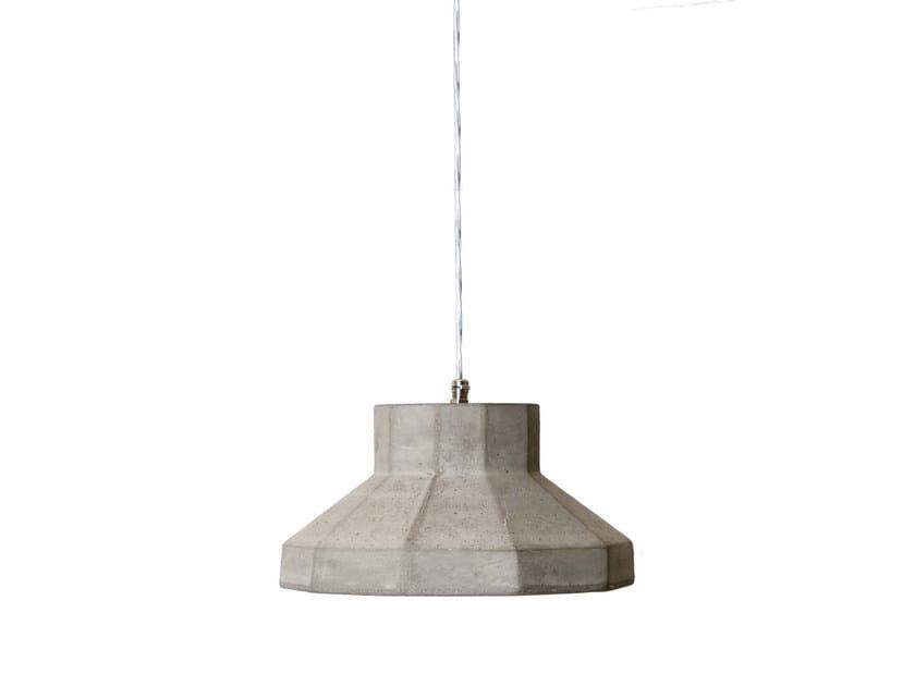 Cement pendant lamp GONGOLO by Karman