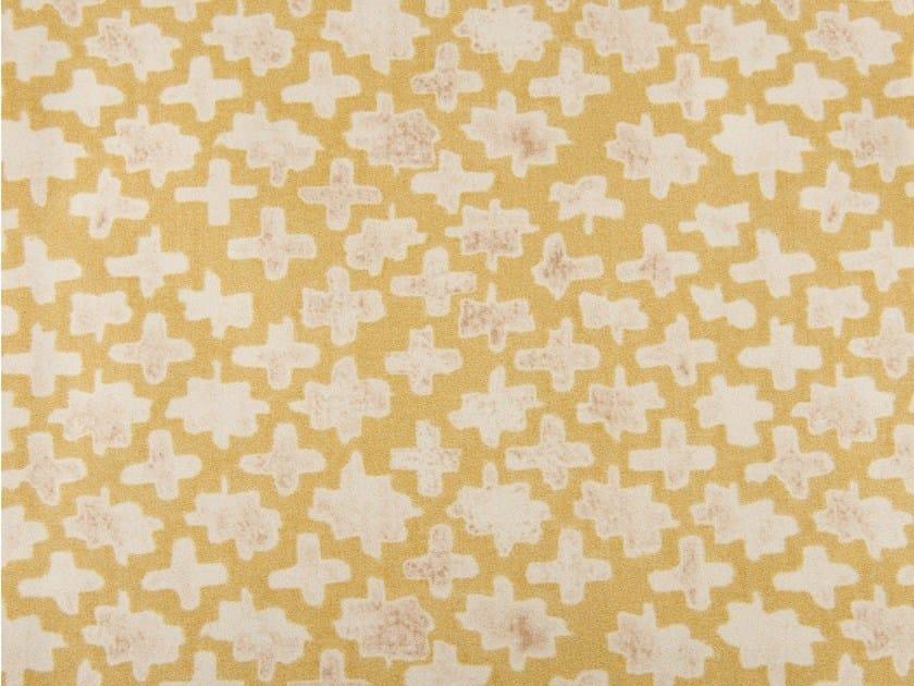 Cotton fabric with graphic pattern MONTSERRAT by KOHRO