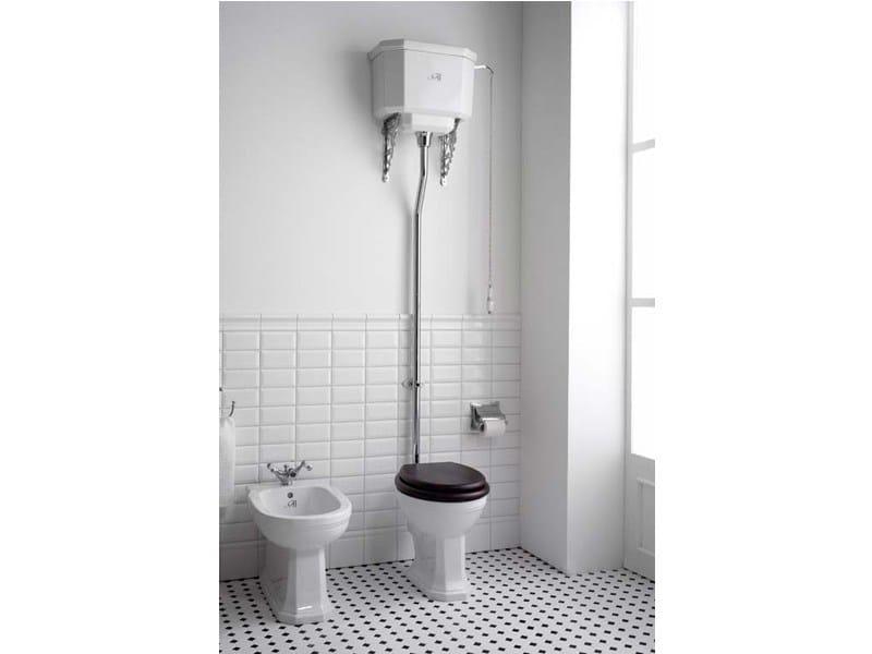 Wc in porcellana con cassetta esterna claremont wc con cassetta esterna gentry home - Wc con cassetta esterna ...