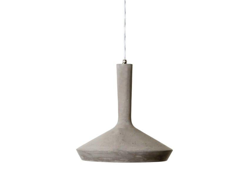 Cement pendant lamp DHARMA - Karman