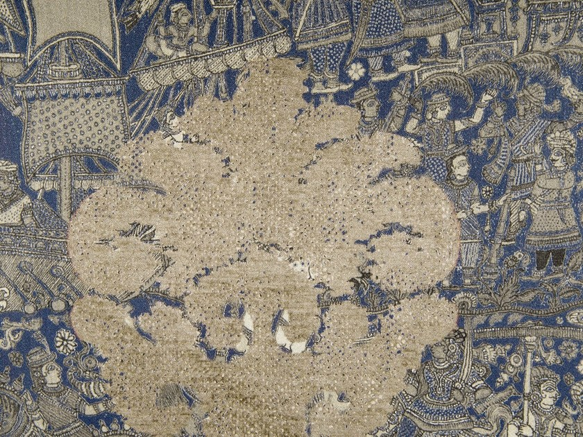 Linen and cotton fabric SAMSARA by KOHRO