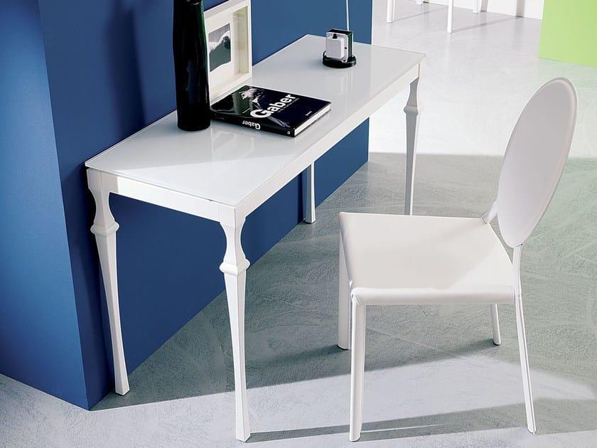 Rectangular console table CORINTO | Crystal console table - Bontempi Casa