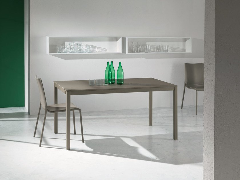 Extending dining table DIESIS by Bontempi Casa