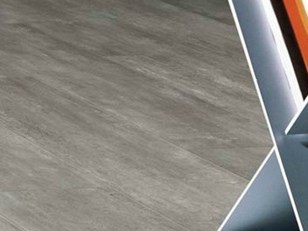 Synthetic material flooring with wood effect INSIGHT CLIC SYSTEM by gerflor