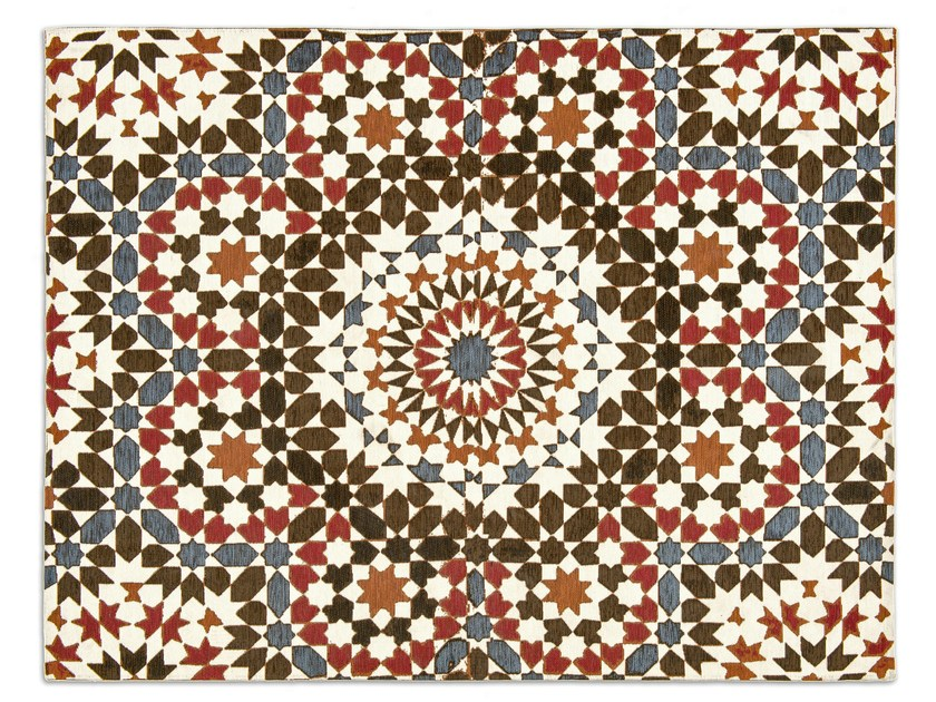 Patterned rug MAROCCO by Calligaris