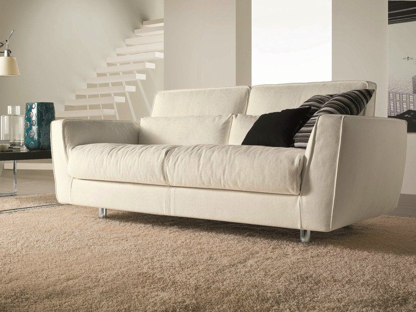 Fabric sofa MIZAR | 3 seater sofa - Bontempi Casa