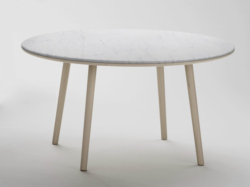 Round marble dining table ARIN | Round table - RETEGUI