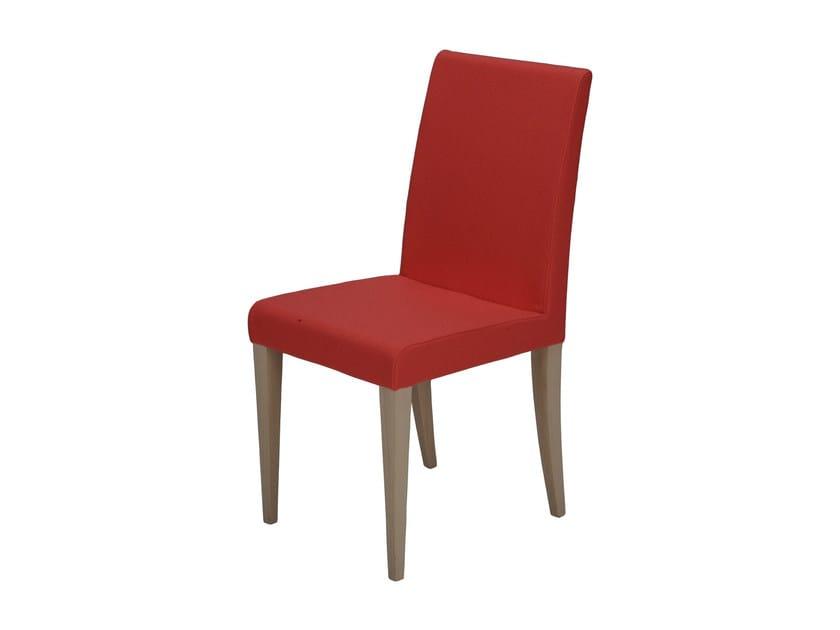 chaise rembourr e mah by d sio. Black Bedroom Furniture Sets. Home Design Ideas