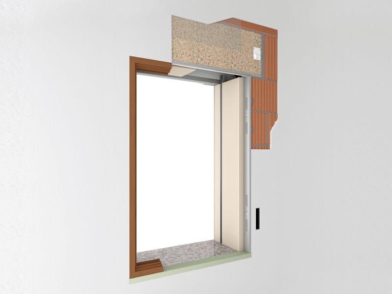 Controtelaio per finestra in finito de faveri - Aeratore termico per finestra ...