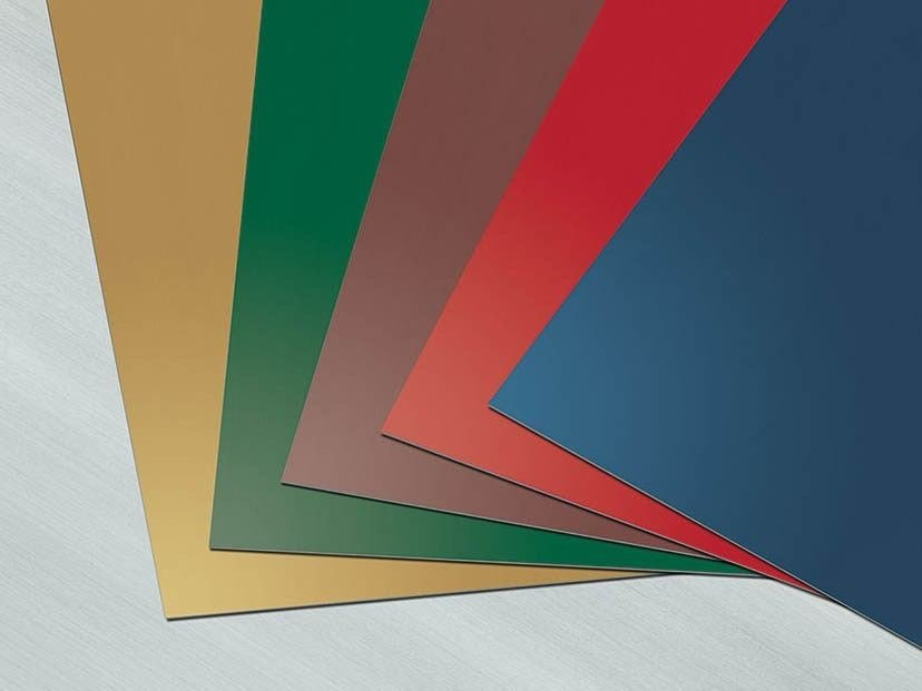 Panel for facade COLOR LINE - RHEINZINK Italia