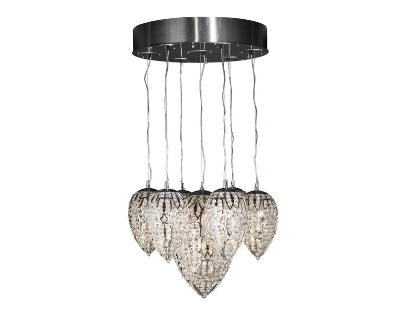 Glass pendant lamp VG LIGHTING 7511346.00 - VGnewtrend