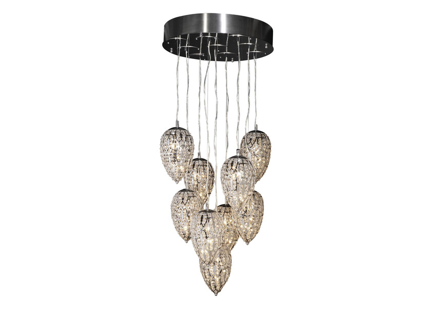 Classic style steel chandelier SMALL LIGHTFALL 7511347.00 - VGnewtrend