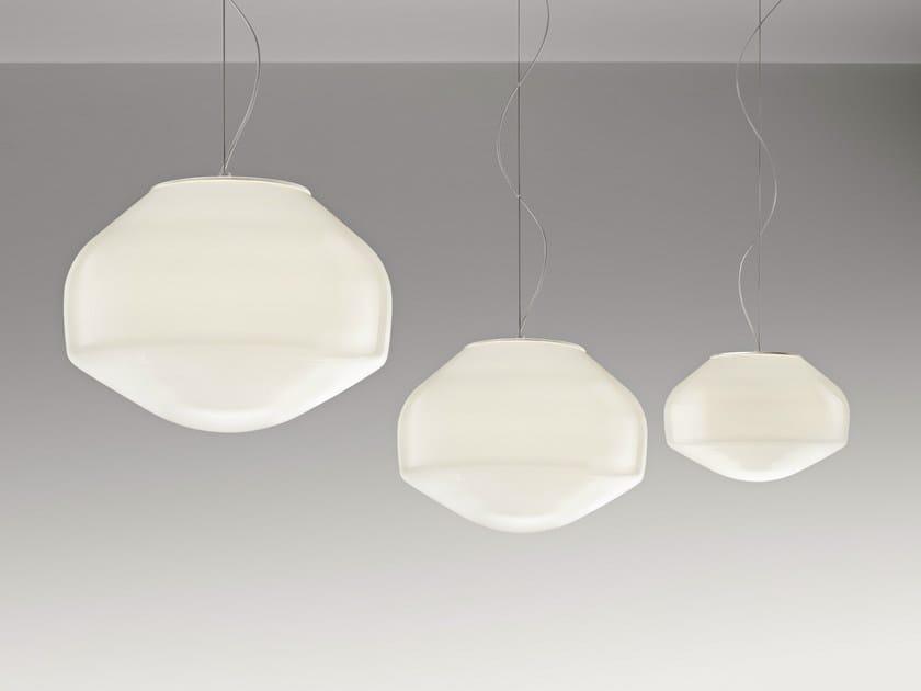Blown glass pendant lamp AÉROSTAT | Pendant lamp - Fabbian