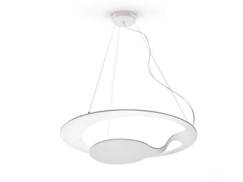 LED aluminium pendant lamp GLU | Pendant lamp - Fabbian