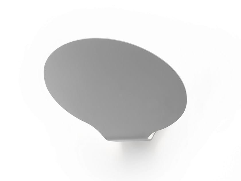 LED aluminium wall lamp GLU | Wall lamp by Fabbian