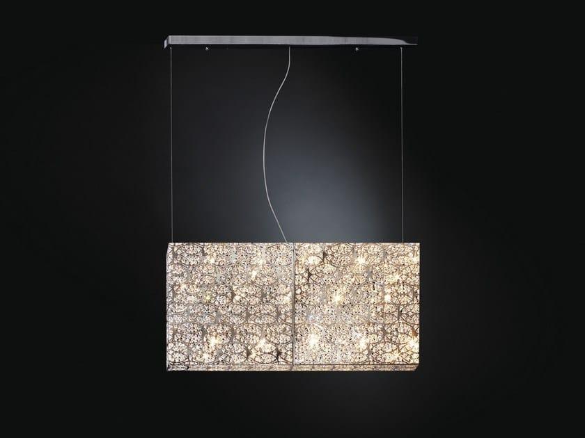 Chrome plated steel pendant lamp ARABESQUE 7511374.98 - VGnewtrend