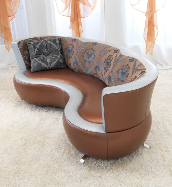 Leather sofa MOKA | Sofa - Formenti