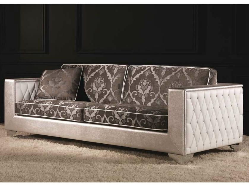 Tufted fabric sofa MUSEO | Fabric sofa - Formenti
