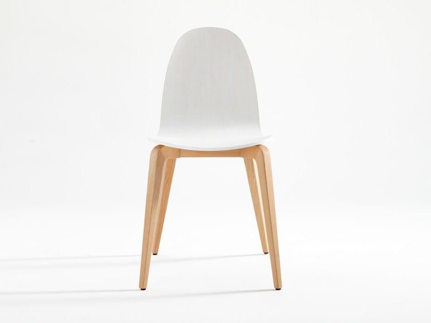 Wooden chair BOB WOOD - ONDARRETA