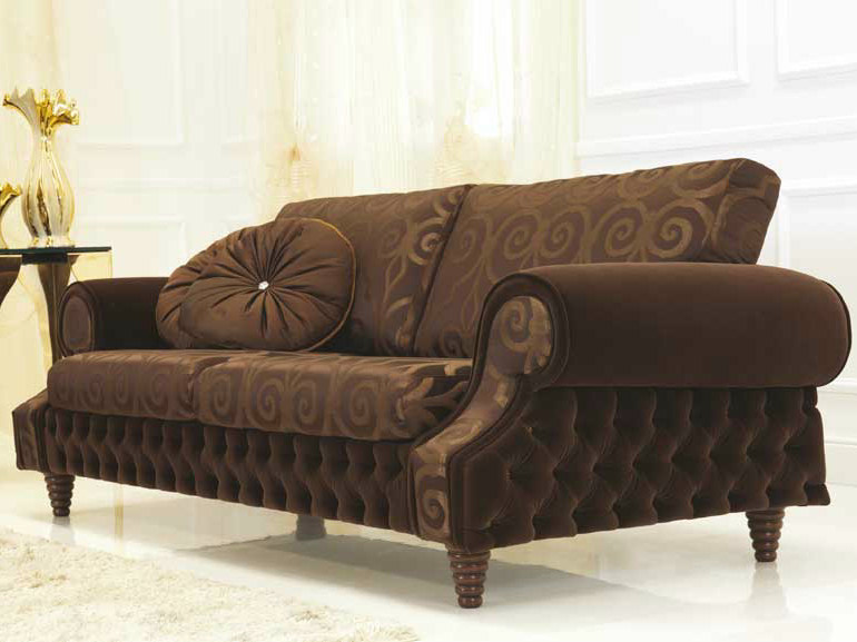 Tufted fabric sofa VENICE | Fabric sofa - Formenti
