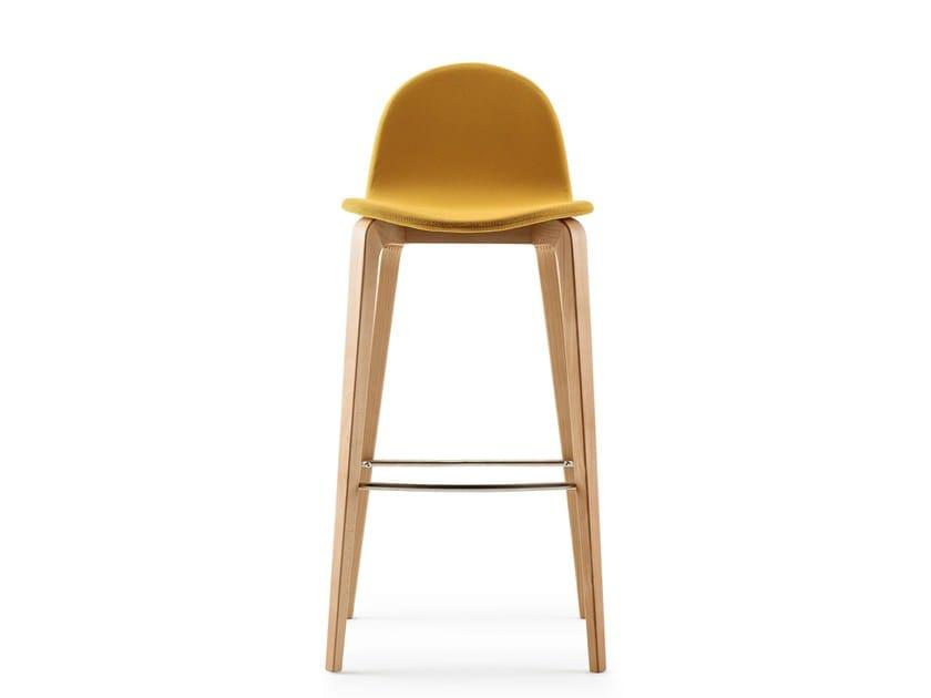 Chaise de bar avec repose pieds bob collection bob by - Chaise avec repose pied ...
