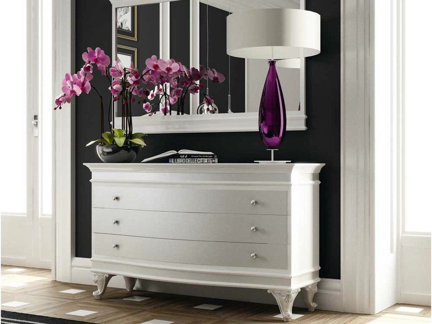 Lacquered wooden dresser AMBER by Formenti