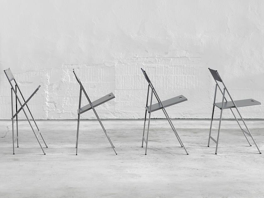 Folding steel chair CLIP - ONDARRETA
