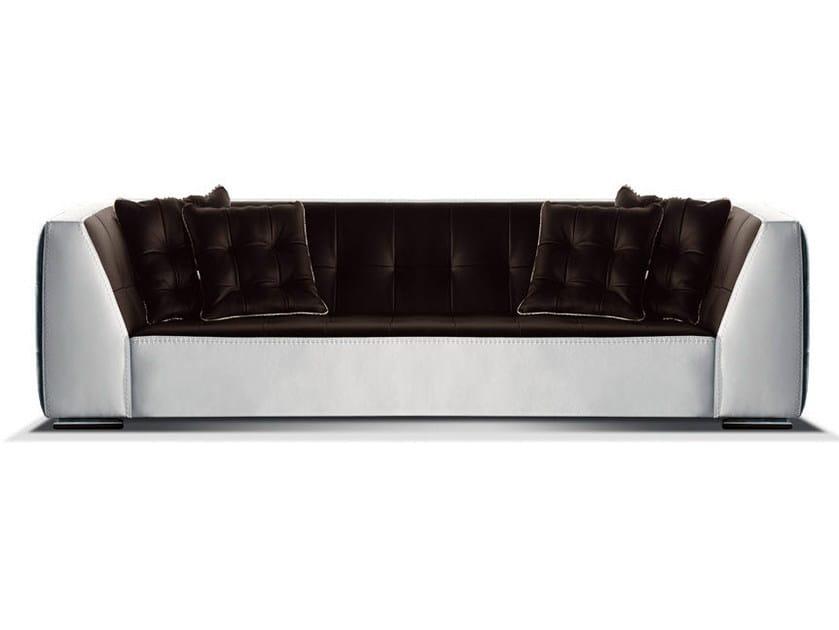 Leather sofa AIRON | Sofa by Formenti