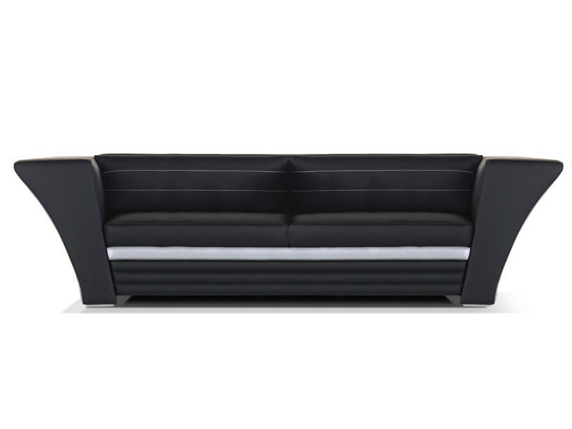 Leather sofa with headrest avatar moderno collection by - Sofas piel moderno ...
