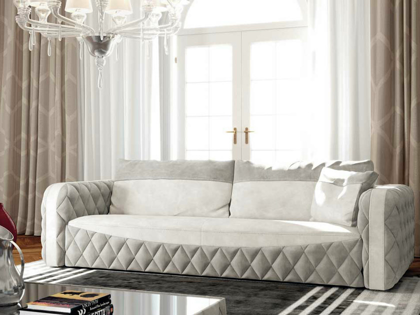 Fabric sofa GLAMOUR by Formenti