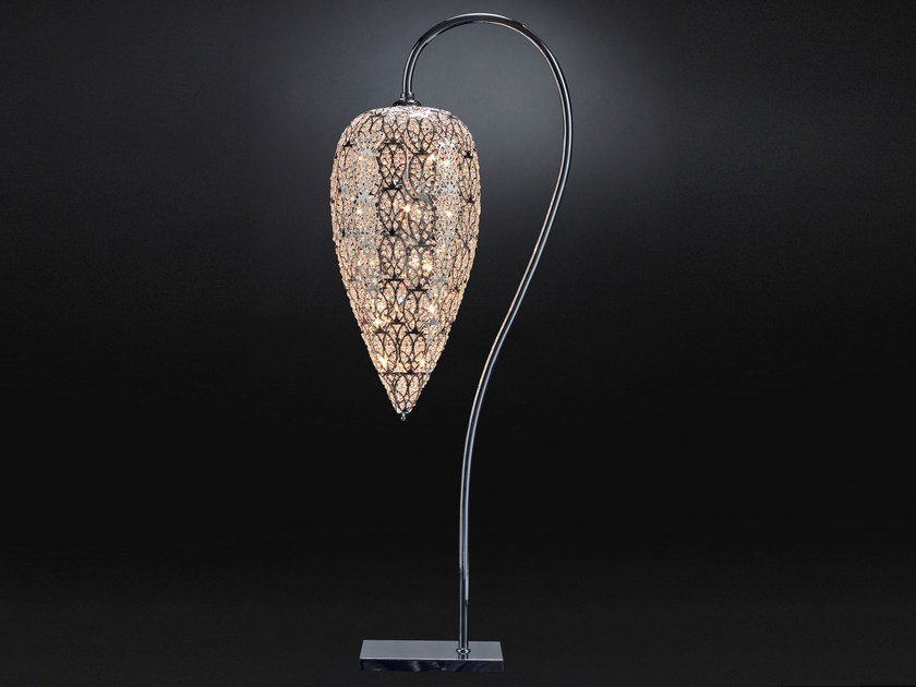 Floor lamp with crystals ARABESQUE HEARTBEAT | Floor lamp by VGnewtrend