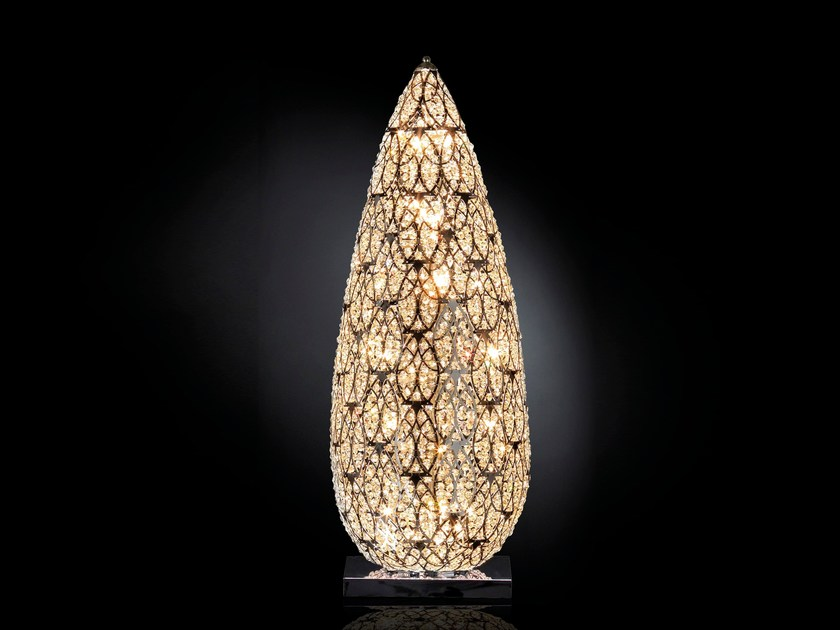 Crystal table lamp / floor lamp ARABESQUE FLAME by VGnewtrend