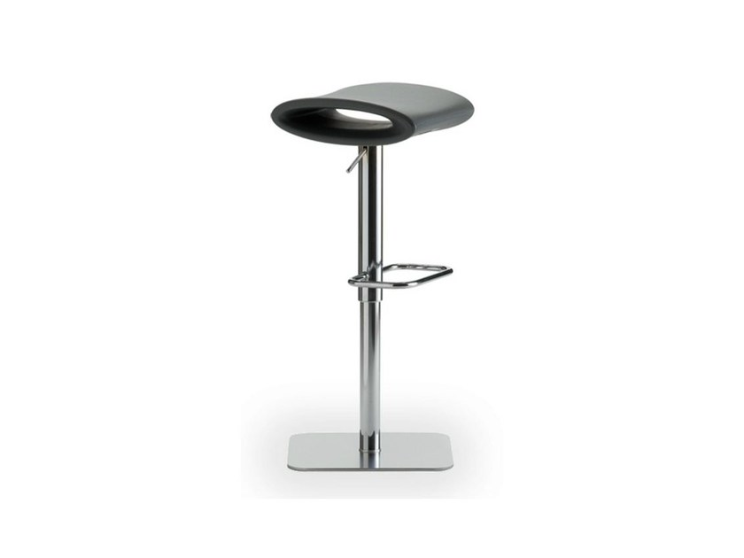 Swivel height-adjustable stool with footrest IPANEMA | Swivel stool - AREA DECLIC