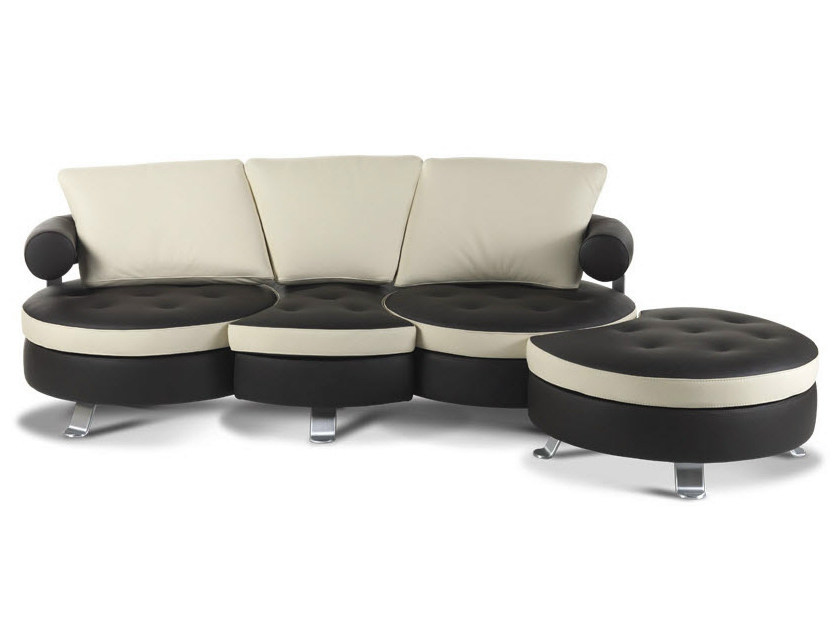 Sectional leather sofa ORIGINAL - Formenti