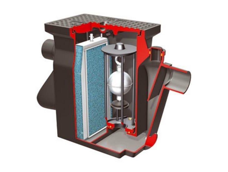 Oil separator, de-oiler and grease separator Separatori ACO - ACO PASSAVANT