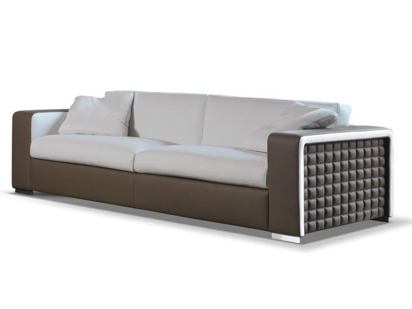 Leather sofa SMILE - Formenti