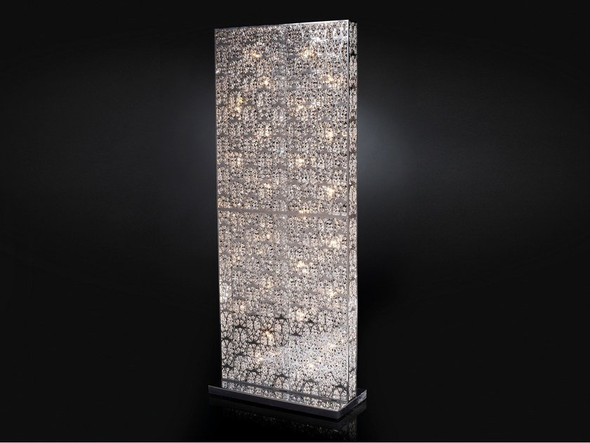 Floor lamp with crystals ARABESQUE RECTANGULAR SEPARE' - VGnewtrend