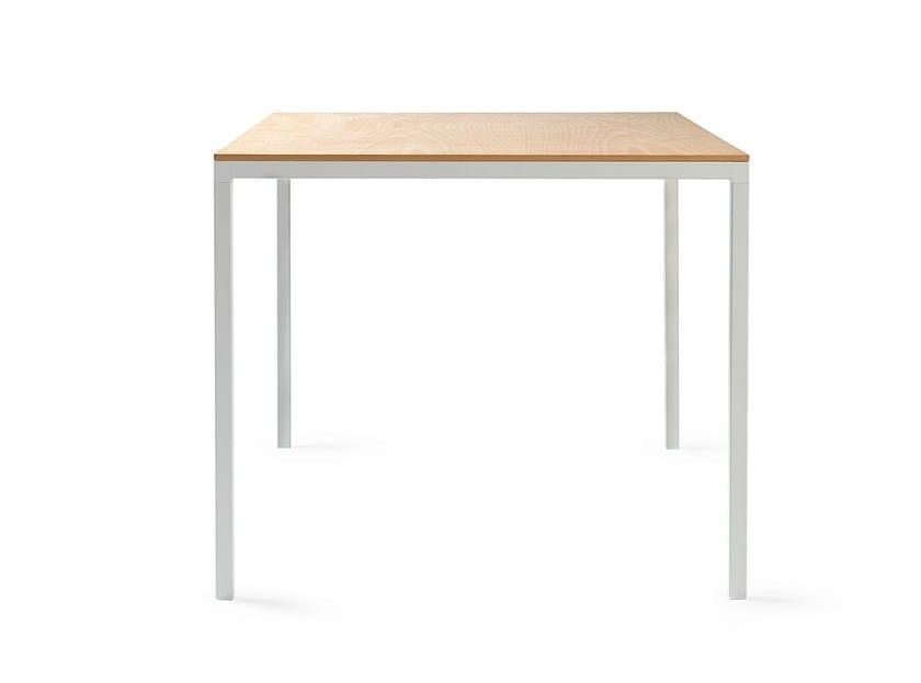 Square steel table DRY 75 | Square table - ONDARRETA