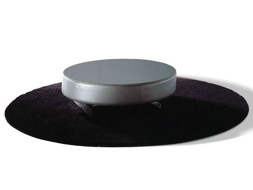 Low round coffee table for living room HEART | Coffee table - Formenti