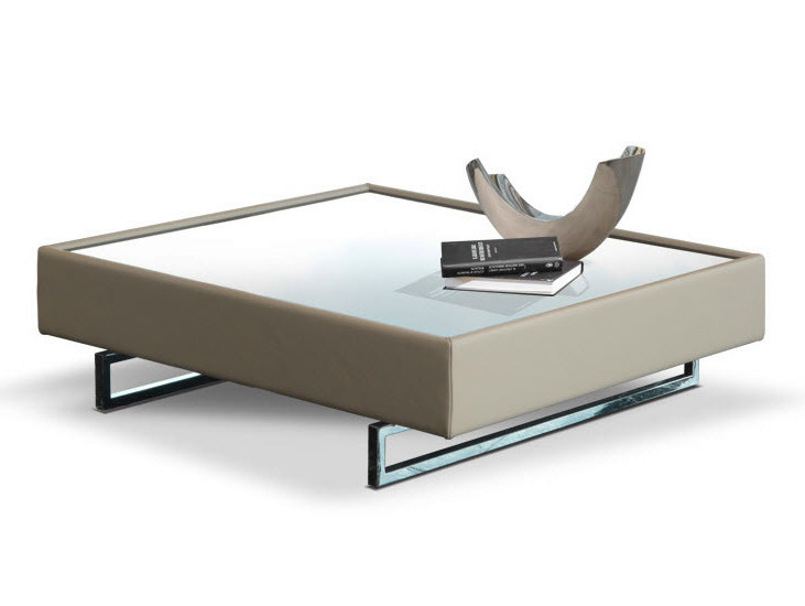 Low square coffee table for living room SIAC - Formenti