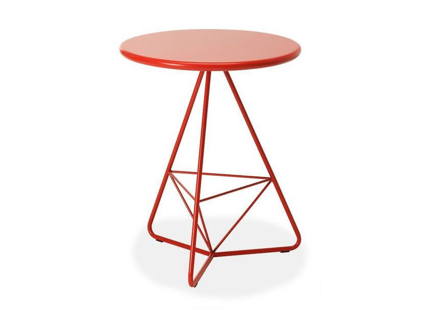 Round garden table TRIA DUE - AREA DECLIC