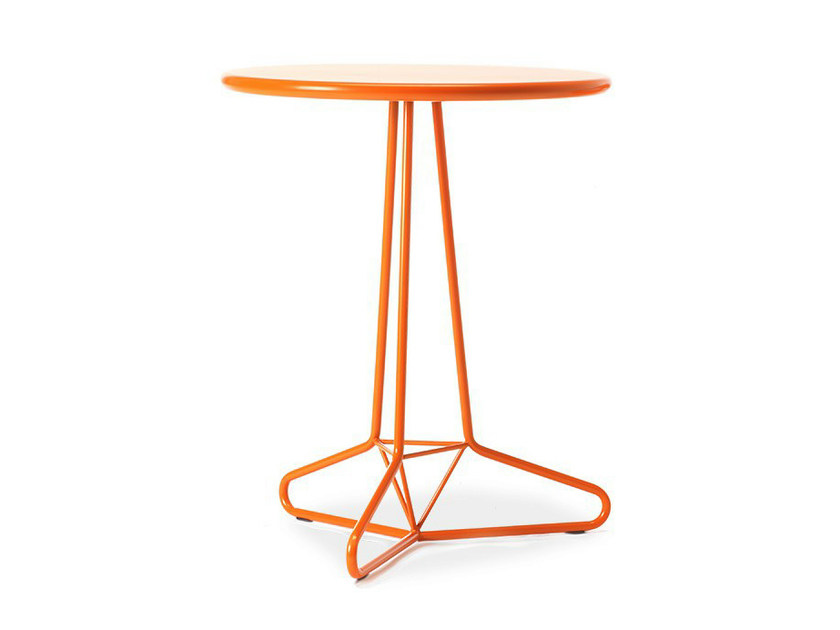 Round garden table TRIA UNO - AREA DECLIC