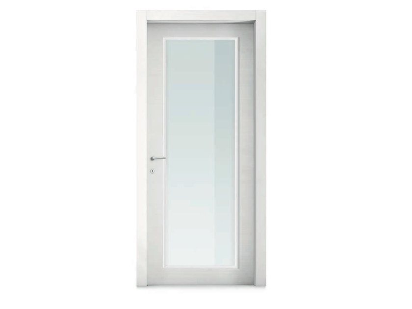Porte poussante en cristal zero 30 collection 2000 by door for Gruppo door 2000 spa