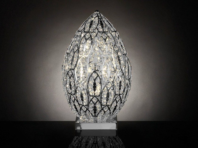 Crystal table lamp ARABESQUE EGG | Table lamp - VGnewtrend