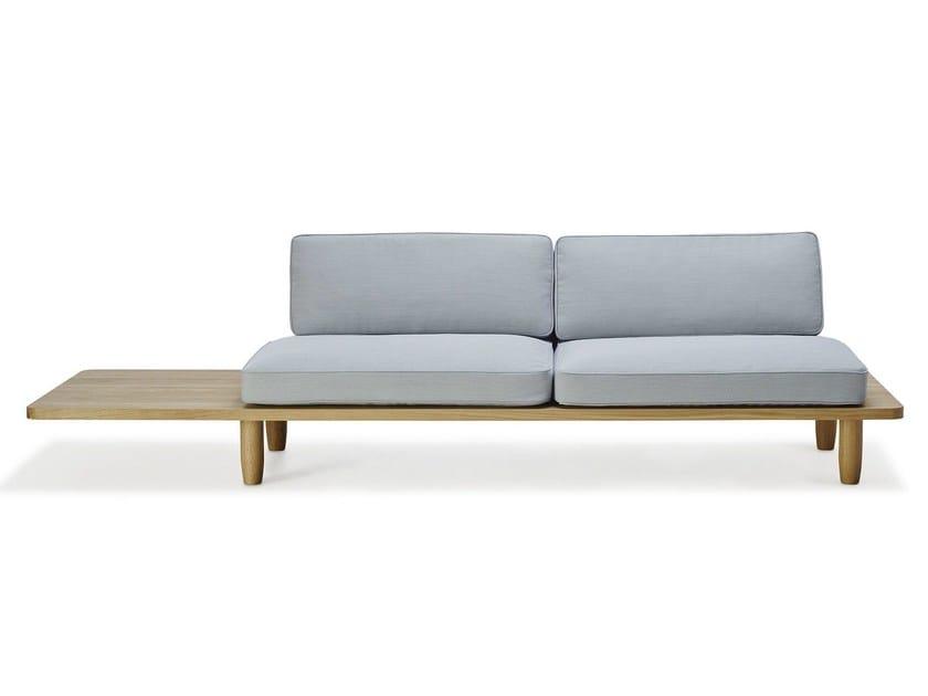 2 seater fabric sofa PLANK SOFA | Fabric sofa - dk3