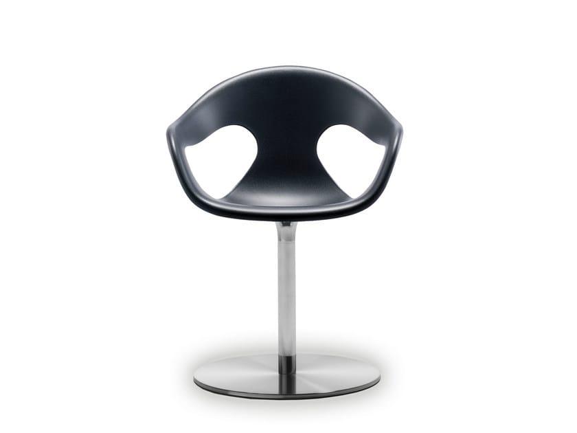 Swivel polypropylene chair SUNNY SWIVEL PLASTIC - AREA DECLIC