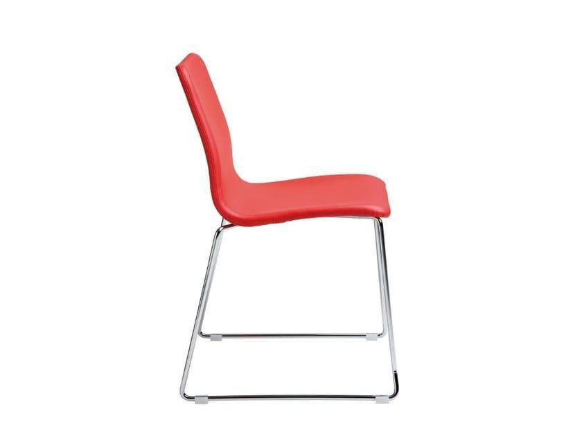 Sled base stackable chair NOVA | Sled base chair - ONDARRETA