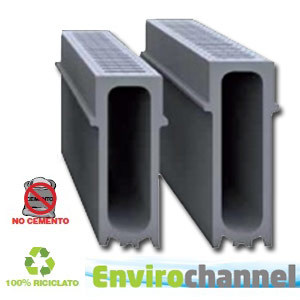 Drainage channel and part EnviroChannel - GRIDIRON GRIGLIATI