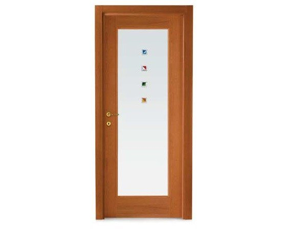 Hinged decorated glass door 501 2000 collection by door for Gruppo door 2000 spa