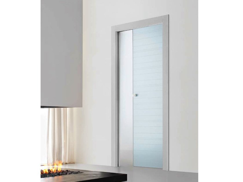 2080 porte coulissante galandage by door 2000 by gruppo for Gruppo door 2000 spa